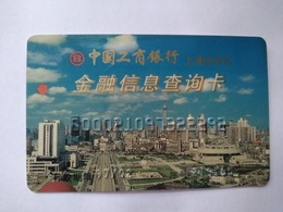 China,Financial Information Inquiry Card, Shanghai Oriental Pearl TV Tower,Industrial And Commercial Bank Of China (1pc) - China