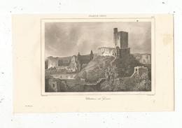 Gravure , France XII E Siècle, Chateau De GISORS, Gaucherel, Lemaitre, 265, Frais Fr : 1.65 E - Estampes & Gravures