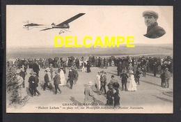 DD / AVIATION / AVIATEURS / HUBERT LATHAM EN PLEIN VOL SUR MONOPLAN ANTOINETTE  -  MOTEUR ANTOINETTE / ANIMÉE / 1910 - Flieger