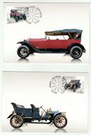 Suisse // Schweiz // Carte Maximum //  4 Cartes  Automobiles Suisses 2015 - Maximumkarten (MC)