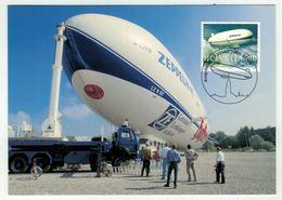 Suisse // Schweiz // Carte Maximum //  1 Cartes Maximum Zeppelin NT  2004 - Maximumkarten (MC)