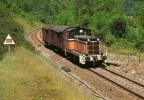 RU CT 16 - Train, Locotracteur Y 7553 Vers VAUX LES SAINT-CLAUDE - Jura - SNCF - Trains