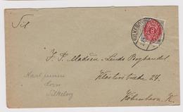 DANEMARK: Lettre De Silkeborg à Kjobenhavn Du 21.03.1891 - 1864-04 (Christian IX)