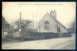 Cpa Du 22  Pléboulle Antique Chapelle Du Temple , Construite Au XIè Siècle     LZ15 - Sonstige Gemeinden