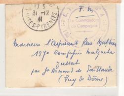 21439 - De TARBES  41 - Guerre De 1939-45