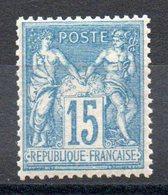 FRANCE - YT N° 90 - Neuf * - MH - Cote: 60,00 € - 1876-1898 Sage (Type II)