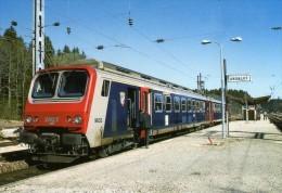 RU CT 20 - Automotrice Z 9633 En Gare - ANDELOT - Jura - 39 - SNCF - Trains