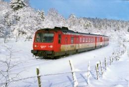 RU CT 21 - Autorail RGP X 2734 Vers LA CHAUMUSSE - Jura - SNCF - Trains