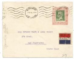 PASTEUR 30C PORTE TIMBRE IMPRIME POUDRE DE SAVON PAUL AILLAUD MARSEILLE 1931 POUR USA RARE - 1922-26 Pasteur