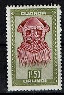 RU  163 A  **  6 - Ruanda-Urundi