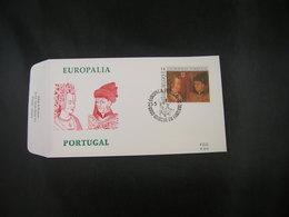 """BELG.1991 2409 FDC (Marche On Famenne) : """" Europalia 91 Portugal """" - 1991-00"""