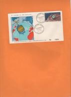 Enveloppe 1er Jour 1962. Tirage Limité.  Telstar. 1ere Liaison TV Satellite Europe Amérique. Nouvelle-Calédonie - Briefe U. Dokumente