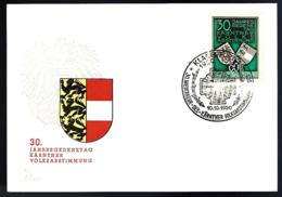 KÄRNTNER VOLKSABSTIMMUNG  - - Österreich