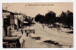 - CPA NIORT (79) - Avenue De La République 1911 (avec Personnages) - Edition Alix N° 86 - - Niort