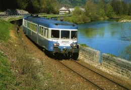 RU CT 30 - Autorail X 2810 Vers VAUX LES SAINT-CLAUDE - Jura - SNCF - Trains