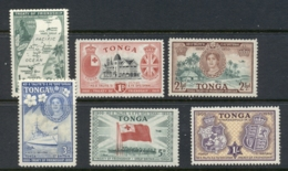 Tonga 1951 Tonga & GB Friendship MUH - Tonga (1970-...)