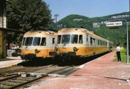 RU CT 31 - Autorail RGP X 2725 Et 2778 En Gare - JEURRE VAUX - Jura - SNCF - Otros Municipios