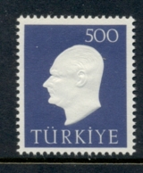 Turkey 1959 Kemal Ataturk MLH - 1921-... República