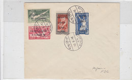 Lebanon-Liban 1924LQUIDAT.OFFER, Olympic Games  French Only Compl.set On FDC,dated 24/6/1924--Rare- - - Lebanon