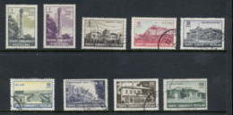 Turkey 1963 Views MLH/FU - Unused Stamps