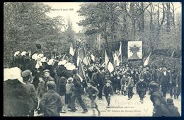 Cpa Du 22  Plourivo Manifestation Arrivant Chez Mr Armez Au Bourg Blanc élections 6 Mai 1906 -- Près De Paimpol   LZ16 - Paimpol