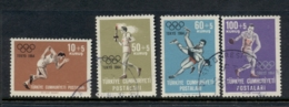 Turkey 1964 Summer Olympics Tokyo FU - Unused Stamps