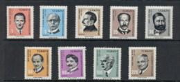 Turkey 1965 Portraits MLH - Unused Stamps
