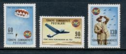 Turkey 1965 Turkish Aviation League MLH - Unused Stamps
