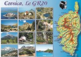 CPM - Carte Géographique - France  Département  20 Corse - Landkarten
