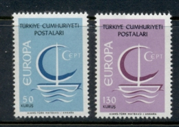 Turkey 1966 Europa MLH - Unused Stamps