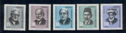 Turkey 1966 Portraits MLH - Unused Stamps