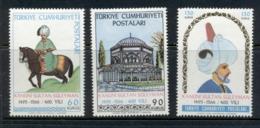 Turkey 1966 Sultan Suleiman MLH - Unused Stamps