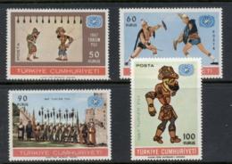 Turkey 1967 Intl. Tourist Year MLH - Unused Stamps