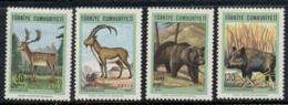 Turkey 1967 Wildlife MLH - Unused Stamps
