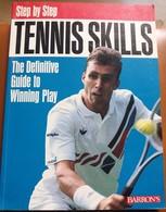C1  Step By Step TENNIS SKILLS Deutscher Tennis Bund GERMAN TENNIS FEDERATION - 1950-Now