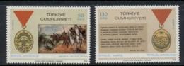 Turkey 1968 Turkish Independence Madal MLH - Unused Stamps