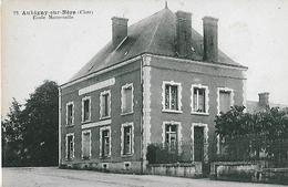 Aubigny Sur Nere. L'école Maternelle. - Aubigny Sur Nere