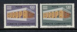 Turkey 1969 Europa MLH - Unused Stamps