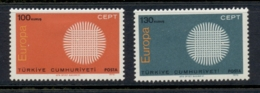Turkey 1970 Europa MLH - 1921-... República