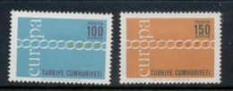 Turkey 1971 Europa MLH - 1921-... Republic