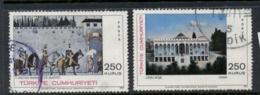Turkey 1971 Paintings FU - 1921-... Republic