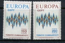 Turkey 1972 Europa MLH - 1921-... Republic