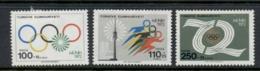Turkey 1972 Summer Olympics Munich MLH - 1921-... República