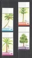 X1087 2004 NIUAFO'OU PLANTS TREES COCONUT #421-4 1SET MNH - Arbres