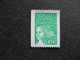 TB N° 3458 B , Timbre De Roulette, Numéro Noir Au Verso, Neuf XX. - Francia
