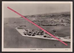 76 LE HAVRE -- Le Port _ Le Havre En Ruines _ C.I.M._ Epave De Bateau _ Vue Aérienne - Le Havre