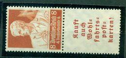 Deutsches Reich, Zusammendruck. Berufsstände, Mi.-Nr. S 223** Postfrisch - Germania
