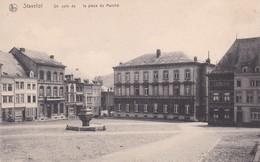 Stavelot Un Coin De La Place Du Marche - Stavelot