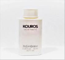 Miniatures De Parfum  KOUROS   De  YVES SAINT LAURENT EDT  10 Ml   PRESQUE VIDE - Miniaturen Flesjes Heer (zonder Doos)