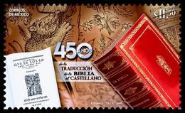 2019 MÉXICO 450 Años Traducción D Biblia Al Castellano MNH, STAMP 450 Years Of The Translation Of The Bible Into Spanish - Mexico